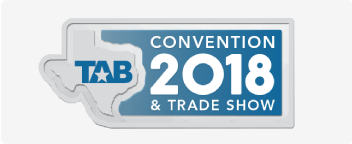COME TO VISIT US AT TAB AUSTIN 2018