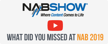 It was great to see you at NAB 2019