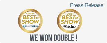WorldCast Systems Wins Two Best of Show Awards at NAB 2018