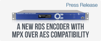 A New RDS Encoder With MPX Over AES Compatibility For High Spectral Purity